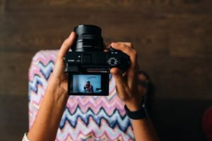 live video through camera